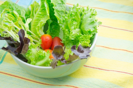 Fresh salad Stock Photo