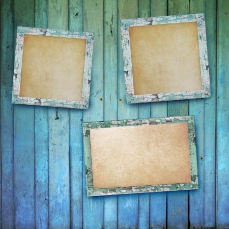 blank photo frame Stock Photo - 18195553