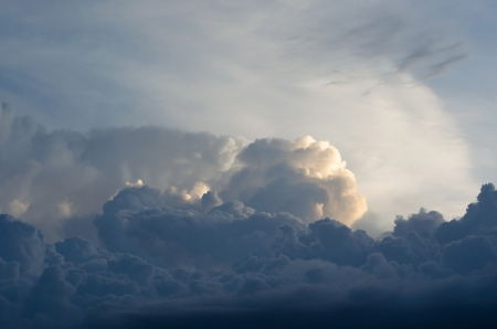 foretelling: storm clouds