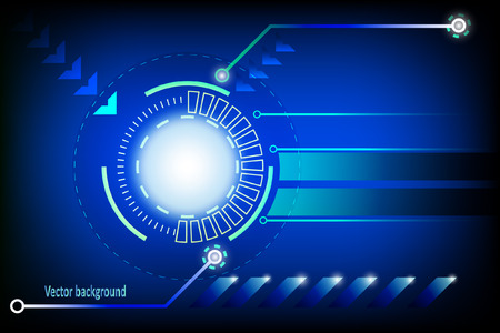 Vector abstract background blue Vector