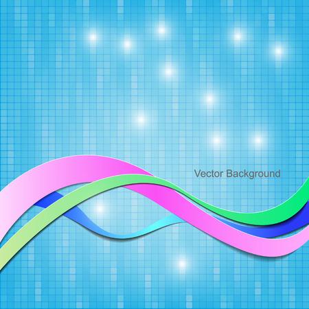vektor abstraktní vlna pozadí