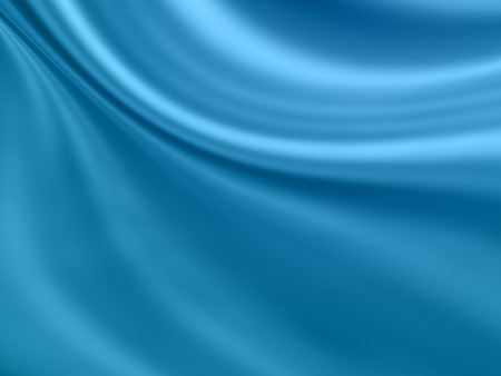 smooth: smooth blue wave abstract background Stock Photo