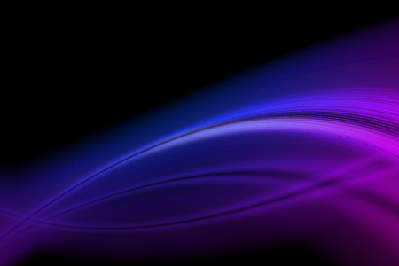 abstract background vivid blue lines and curve glowing in the dark Stock Photo