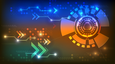 technology abstract background Standard-Bild