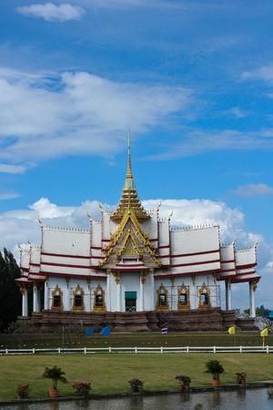 buddhist structures: Thai temple in Nakhonrachasima, Thailand