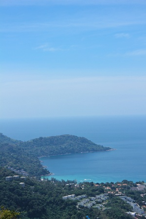 View of Phuket City, in South of Thailand  photo