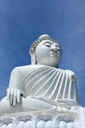 The big marble buddha