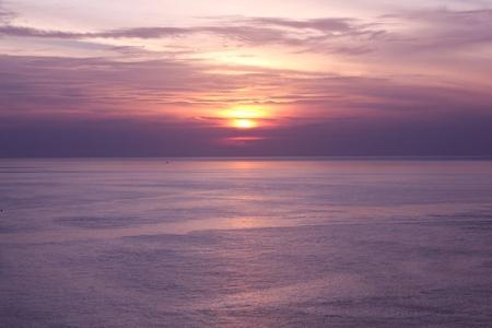 The Beautiful Sunset At Phuket Island, Thailand