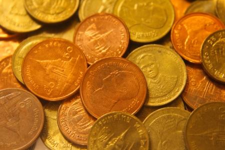 Thai money, coin photo
