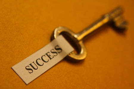 Key to success Stock Photo - 14064553