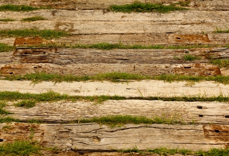 vintage wood: closeup of old wood planks texture background