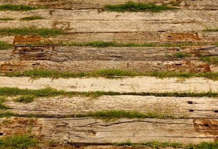 wooden pattern: primo piano di vecchio legno texture di sfondo tavole Archivio Fotografico
