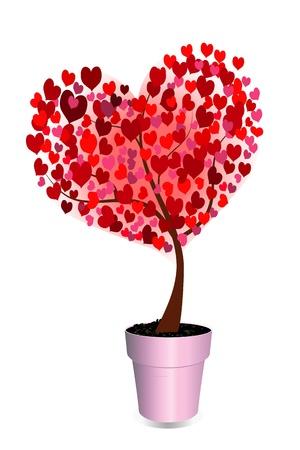 Love tree Stock Photo - 15608974