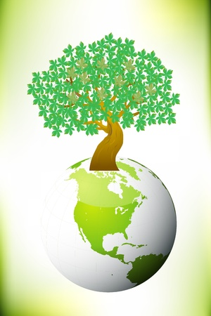 tree, save world Stock Photo