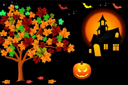 halloween background Stock Photo - 15663878