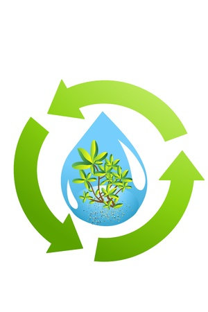 recycle, save world Stock Photo - 15663663