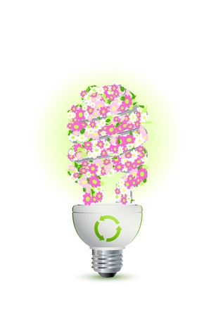 save the earth: green concept, save earth Stock Photo