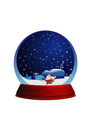 chrismas marble ball Stock Photo - 15710443