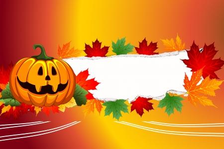 Atumn halloween Stock Photo