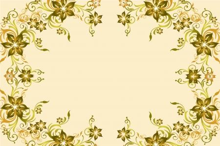 excoriation: Flower vintage baclground