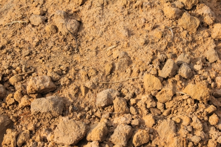 red clay: background of red clay Stock Photo