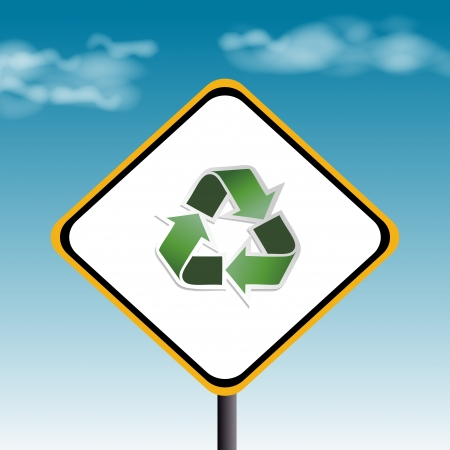 recycling with ecological icons, Save the Planet photo
