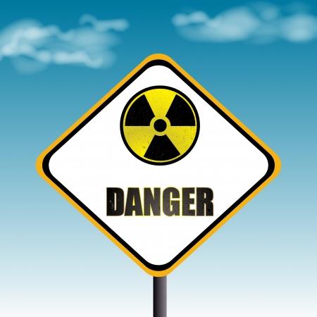 nucler danger Stock Photo - 21922139