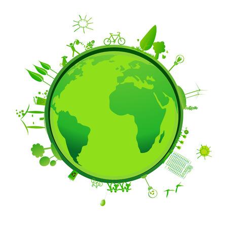 green earth Stock Photo - 24436703