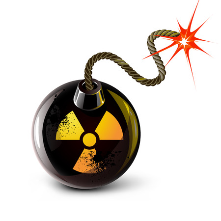 nuclear bomb: nuclear with bomb