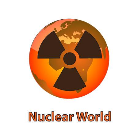 nuclear world Stock Photo - 24465207