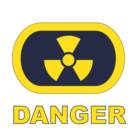 nuclear with danger Stock Photo - 24465212