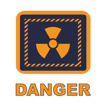 nuclear with danger Stock Photo - 24465214