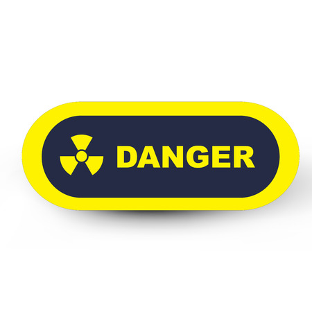 nuclear with danger Stock Photo - 24465216