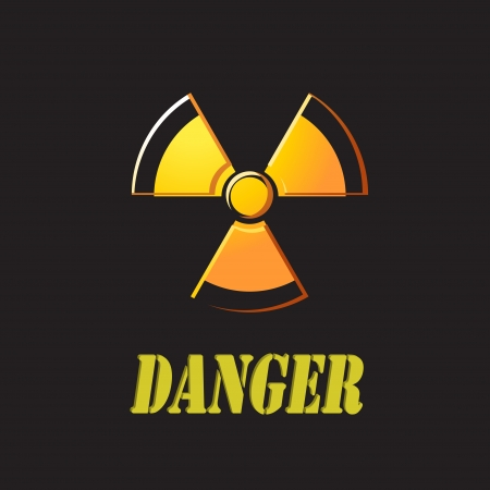 nuclear with danger Stock Photo - 24465306