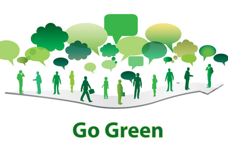 go green: go green Stock Photo