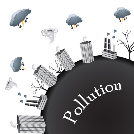 pollution world photo
