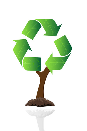 recycle tree photo