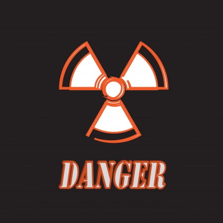nuclear sign  Stock Photo - 24462730