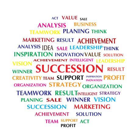 succession: succession word