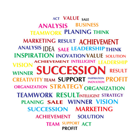 succession: succession with related word