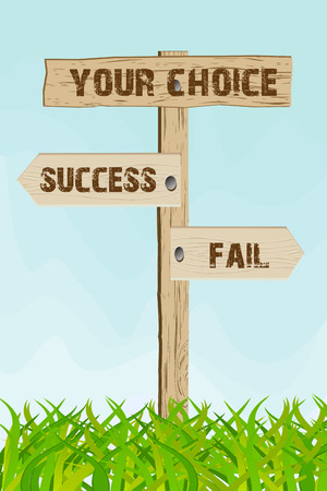 unaccepted: success or fail choice