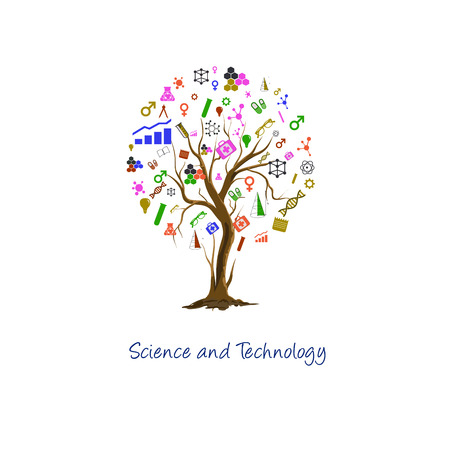 chemically: The concept of modern education in science and technology Stock Photo