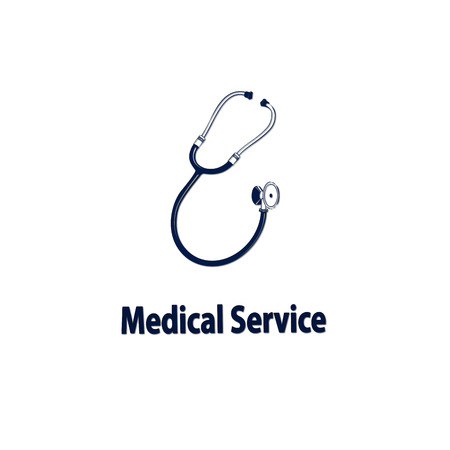prognosis: Medical service with stethoscope