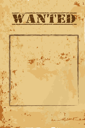 wanted poster: vintage wanted poster
