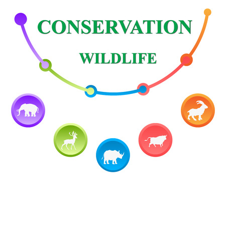 wildlife conservation: Conservation of the wildlife Stock Photo