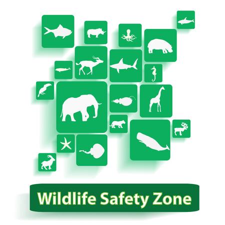 Wildlife safty zone photo