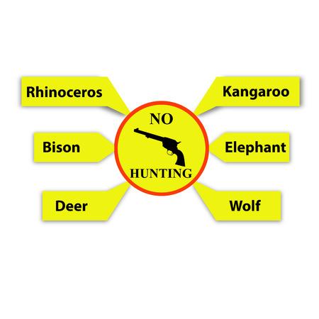 No hunting sign photo