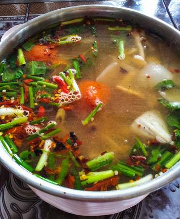 favorite soup: Tom Yam, Spicy soup, Thai food