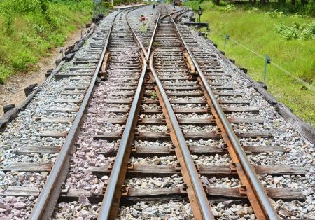 dreary: Confusing railway tracks