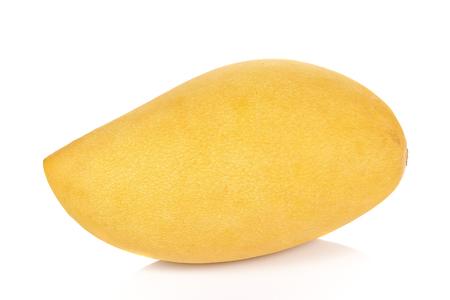 mango: Mango samodzielnie na białym tle